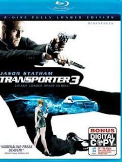 Carátula El Transportador 3 película HD 720p latino e ingles
