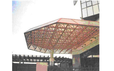 kubah masjid, kontraktor kubah, enamel, atap, struktur, space frame, cladding, aluminium