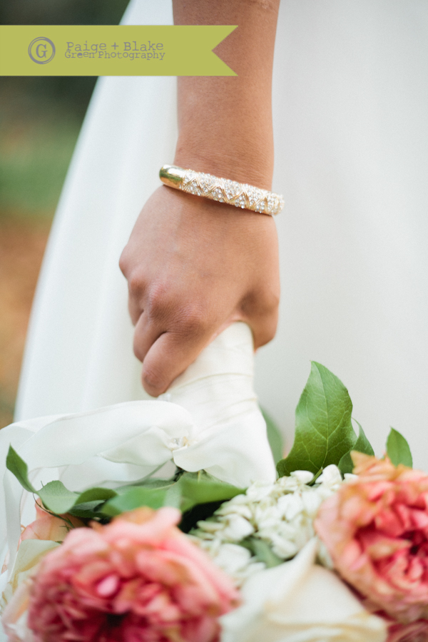 Wedding Bracelet : Photo by Paige and Blake Green