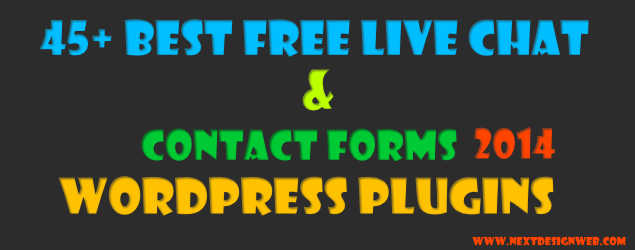 Free Wordpress Live Chat & Contact form Plugins