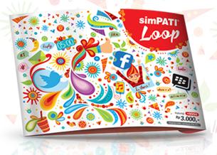 BBM+simpati+loop Cara Daftar Paket BBM Simpati Loop