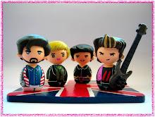 Duran Duran Kokeshi dolls