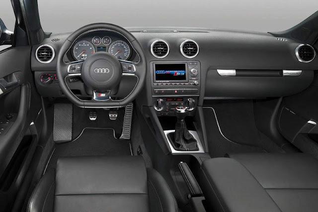 2009 Audi S3 Sportback Interior front