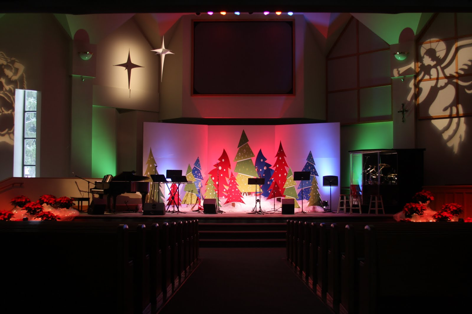 Church stage decor joy studio design gallery best design for Background stage decoration