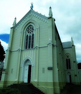 Igreja Matriz de Nossa Senhora de Lourdes, em Flores da Cunha.