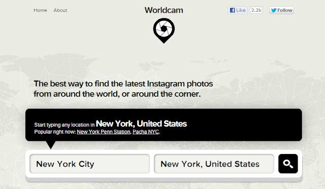 WorldCam - La manera más fácil de averiguar y ver lo que está pasando en cualquier lugar del mundo