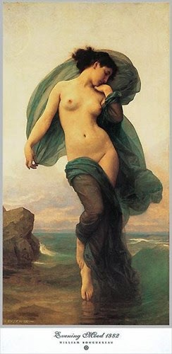 Bouguereau, 'Evening Mood'