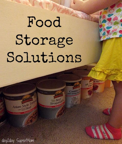 Food Storage Solutions ~ PreppDay Wednesday