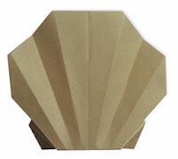 easy clam origami