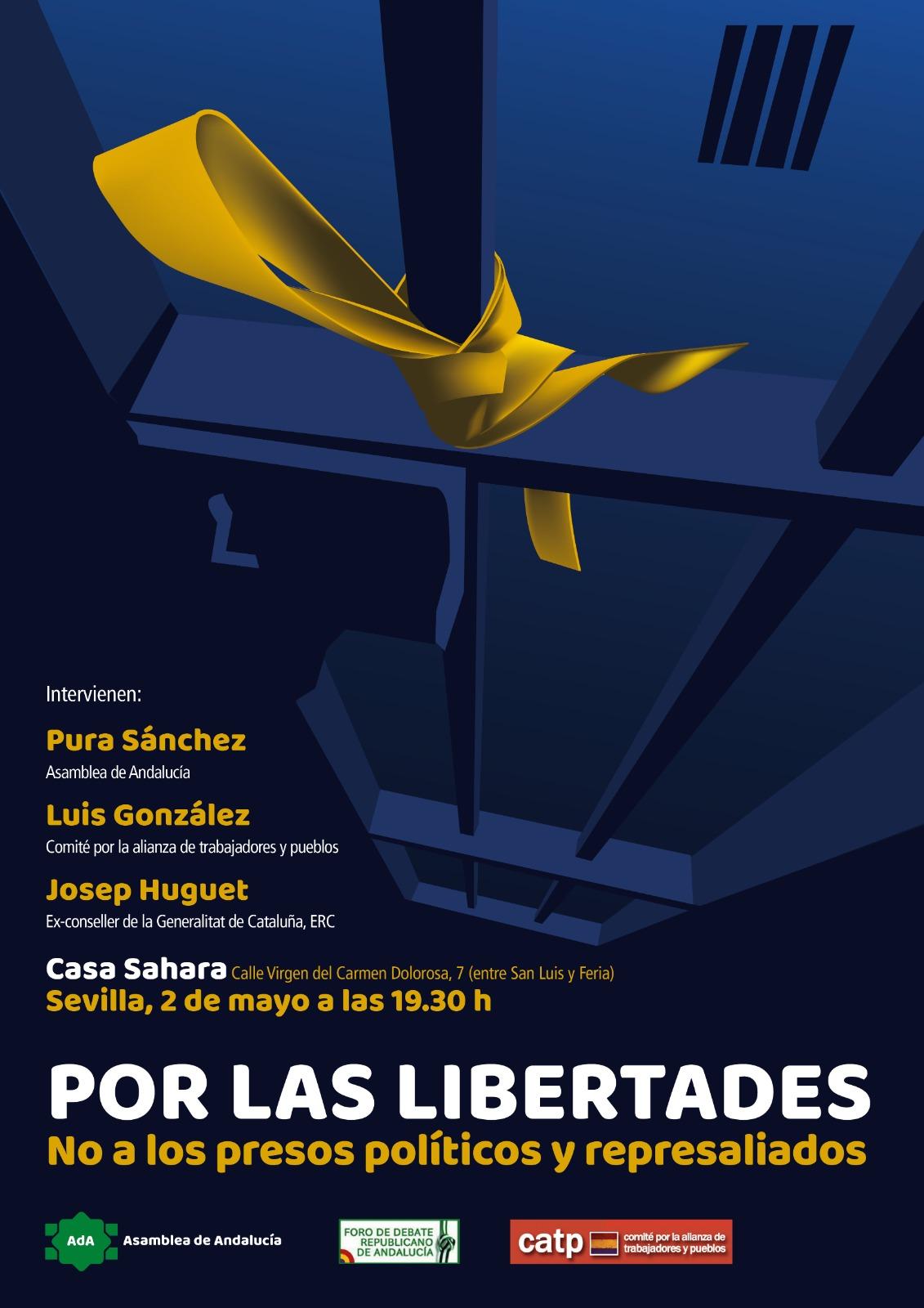 ACTO POR LAS LIBERTADES.No a los presos políticos y represaliados.