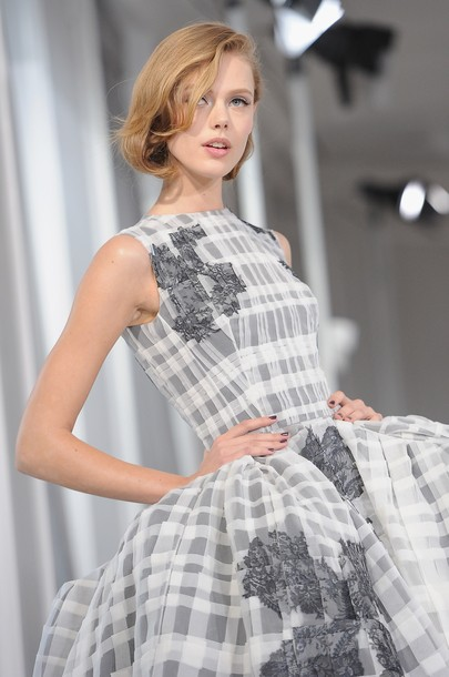 Frida gustavvson christian dior haute couture s s 2012 for American haute couture
