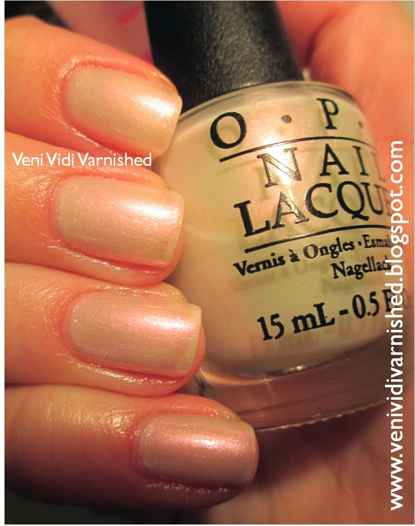 OPI Soft Shades 2014 Muppets Most Wanted International Crime Caper Duochrome