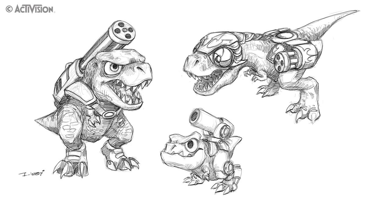 skylanders kaos trap coloring pages - photo#33