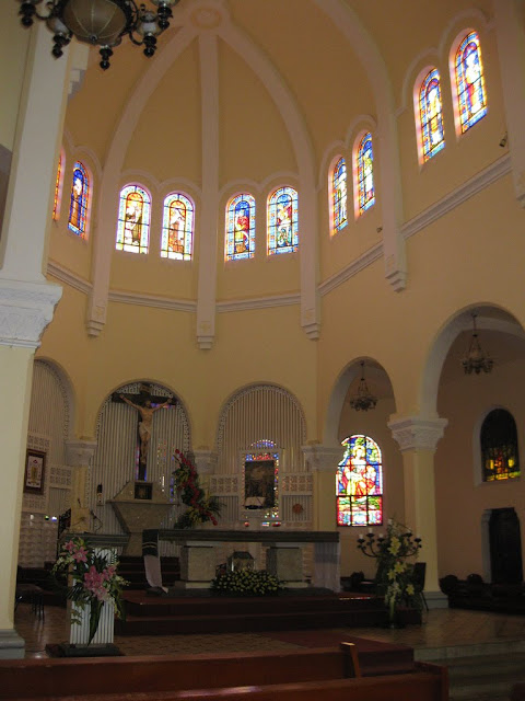 Interior of the Cathedral of Dalat