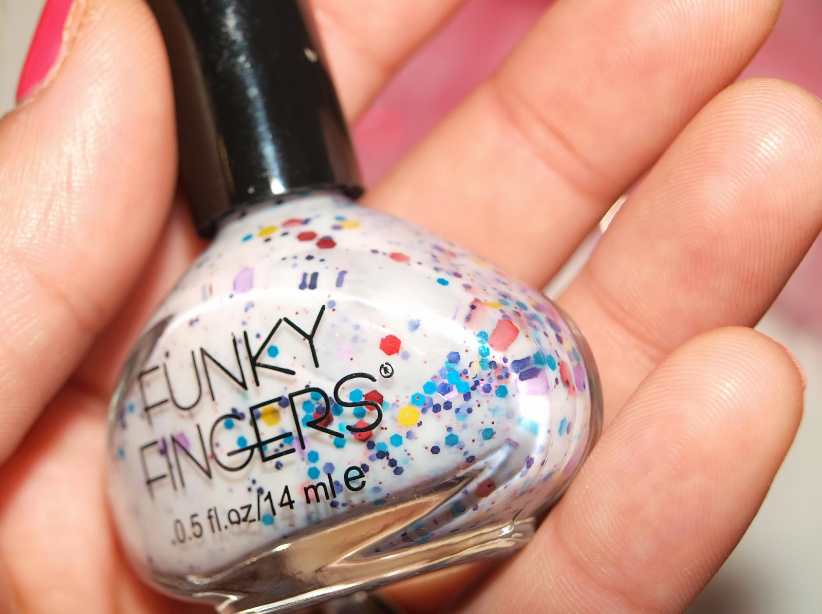 Day 20: Funky Fingers nail polish review - ebay seller