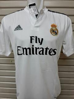 jersey spanyol 2014-2015, grade ORI, MADE IN THAILAND, harga murah, madrid away terbaru