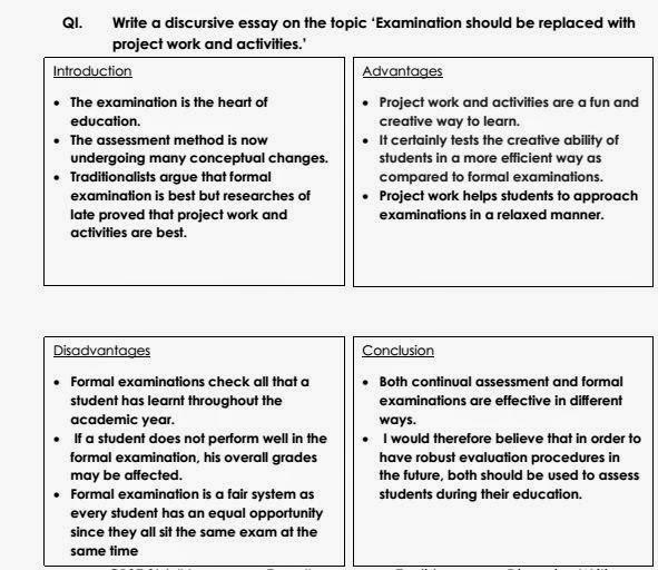 english discursive essay