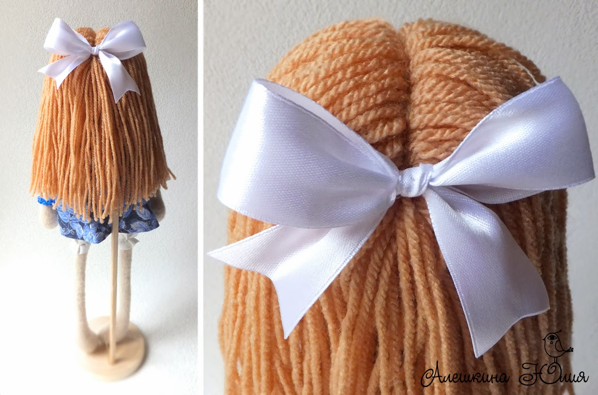 куколка из флиса