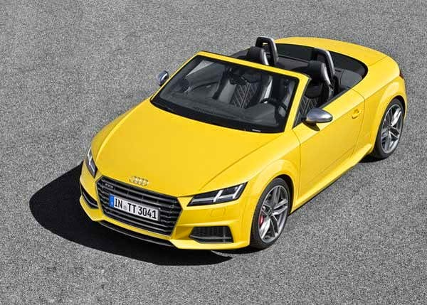 2016 New Audi TT Roadster Review
