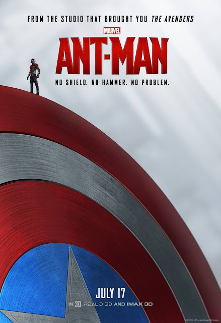 "Ant-Man & The Avengers ""No Shield. No Hammer. No Problem."" Teaser Movie Poster Series - Captain America"