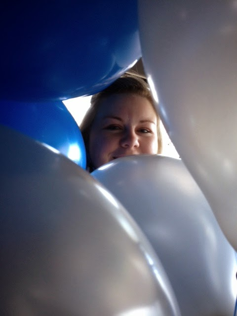 Amanda in the Balloons