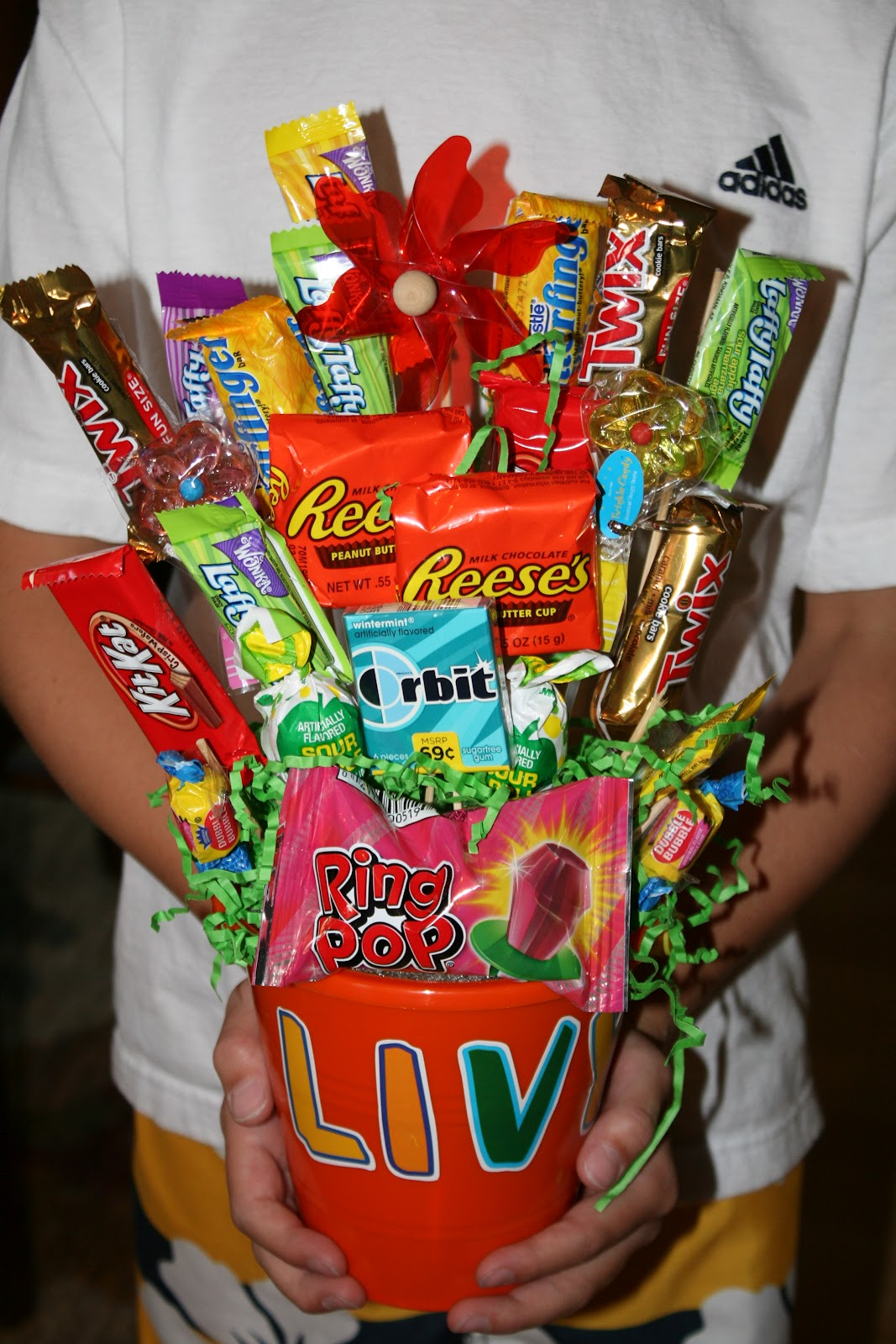 Chocolate Candy Bouquet Ideas