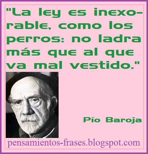 frases de Pío Baroja