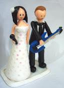 Noivinhos para bolo de casamento (clique em cima para ver as encomendas feitas)