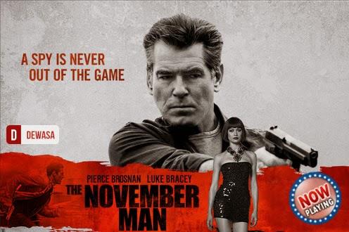 Film The November Man 2014 di Bioskop