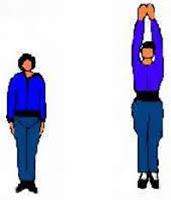 gerakan, senam, peninggi, badan, tiens, cepat, 9