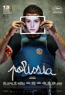 "Poster do filme ""Polissia"""