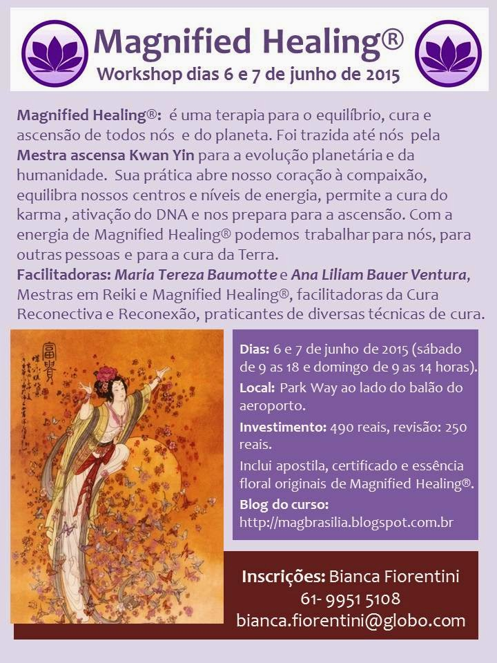 Workshop de Magnified Healing