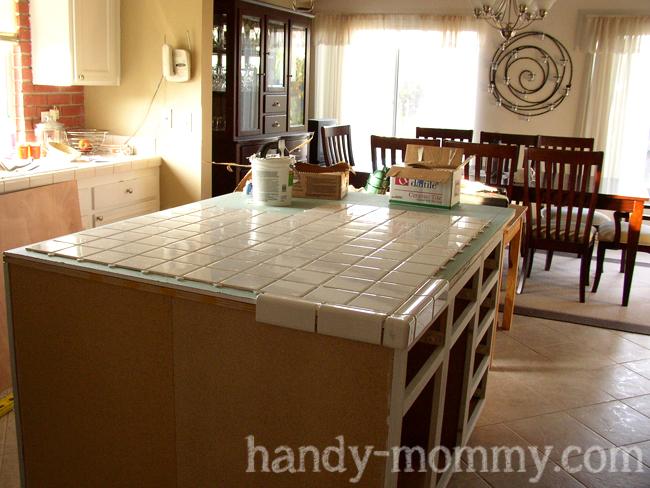 Wonderful Handy Mommy Diy Kitchen Island