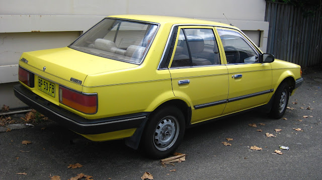 Mazda 323 BF Sedan 1985