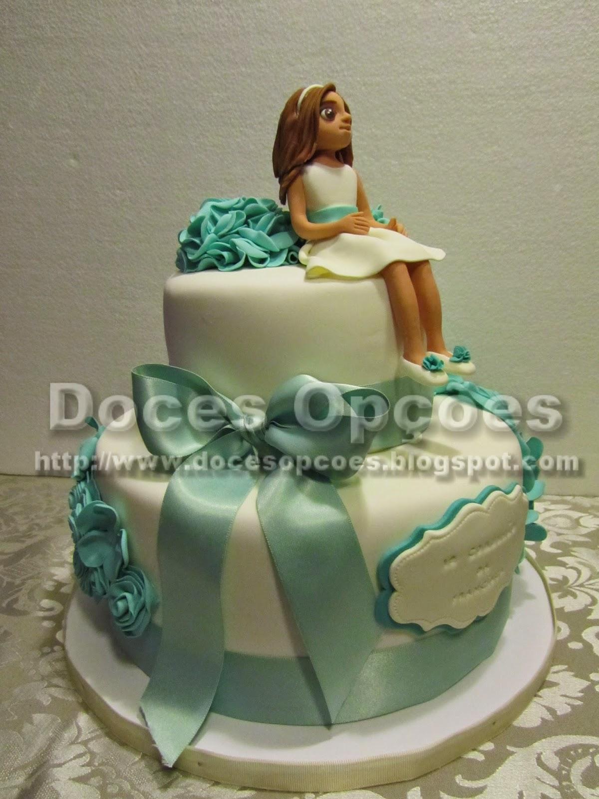 bolos primeira comunhão menina