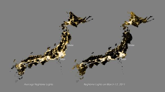 東日本大震災(Ⅲ): 電気がない 東日本大震災(Ⅲ) 東日本大震災の記...  電気がない