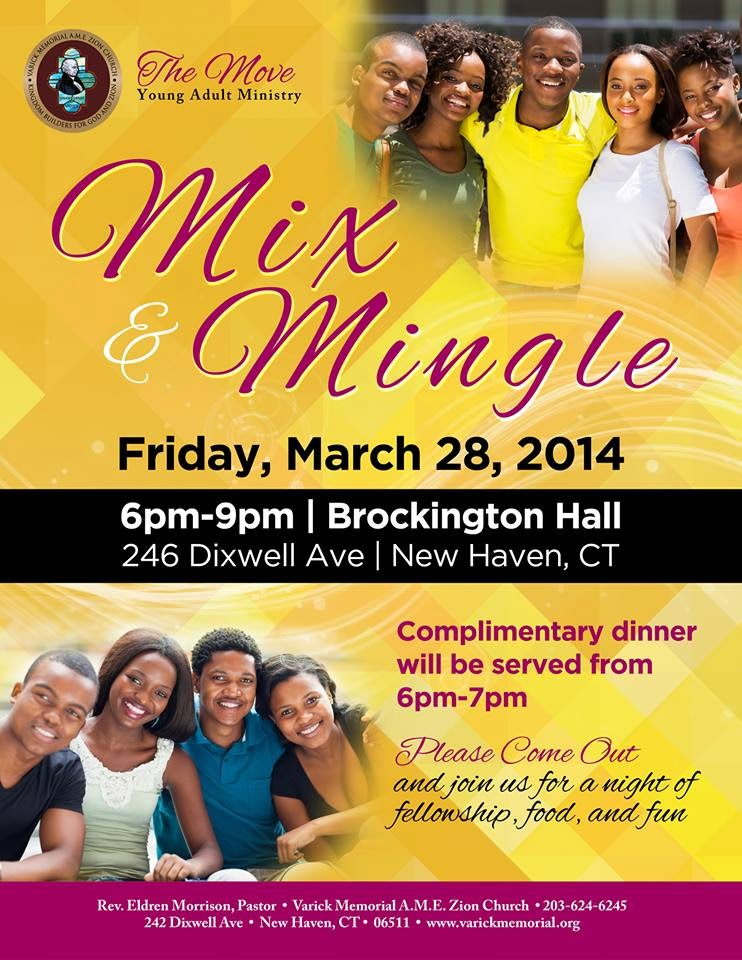 The FICKLIN MEDIA GROUP,LLC: The Move Young Adult Ministry Mix and Mingle,Friday March 28, 2014, Varick Church