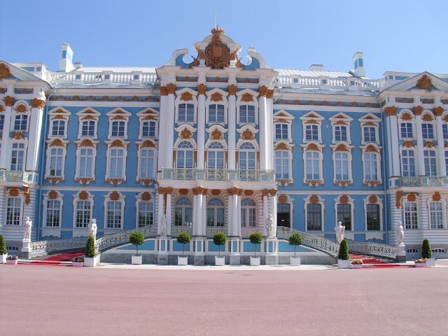 Catherine's Palace St Petersburg