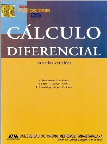 Cálculo Diferencial en Varias Variables por Rubén Becerril Fonseca