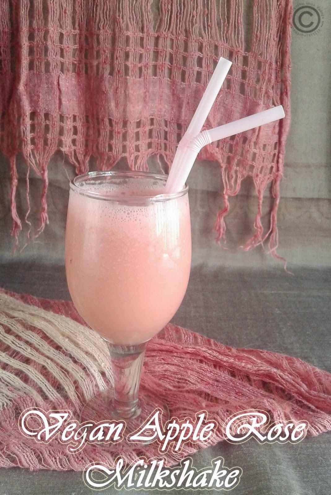 apple-rose-milkshake