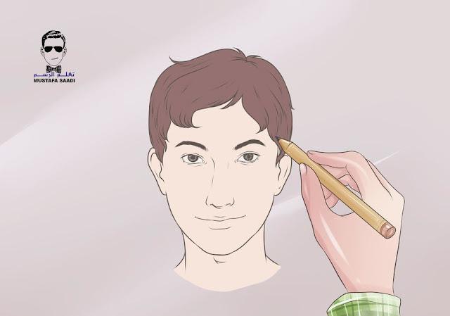 كيفية تلوين البشرة بالالوان الخشبية