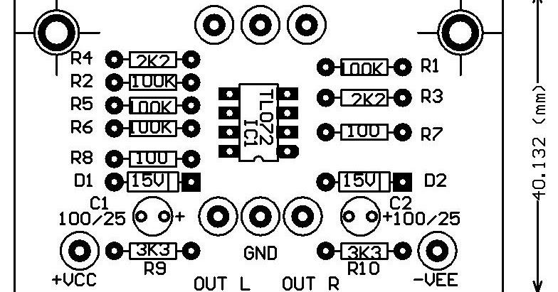 audio kreatif  kit inverting untuk mempertahankan nada bass