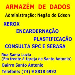 ARMAZEM DE DADOS