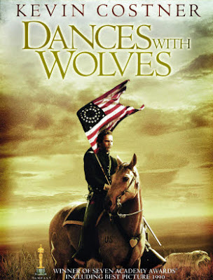 Poster Of Dances with Wolves (1990) Full English Movie Watch Online Free Download At worldfree4u.com