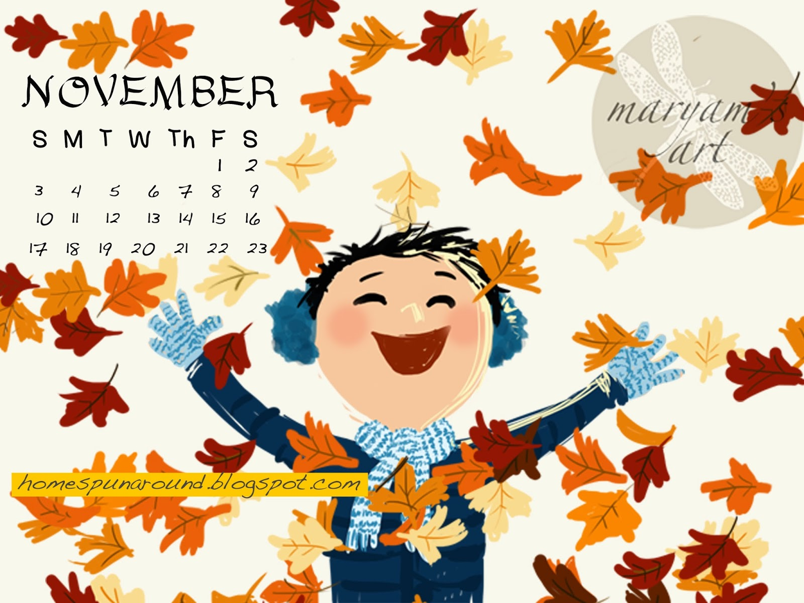 cute november wallpaper - photo #3