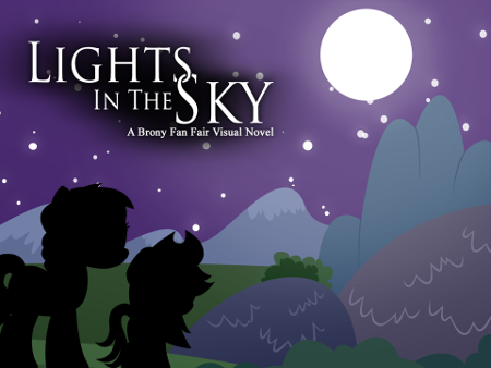 Lights in the Sky: A Brony Fan Fair Visual Novel