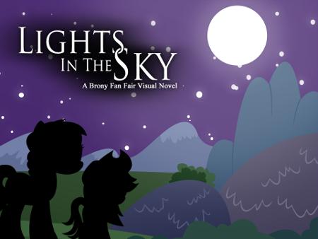 Lights in the Sky: A Brony Fan Fair Visual Novel