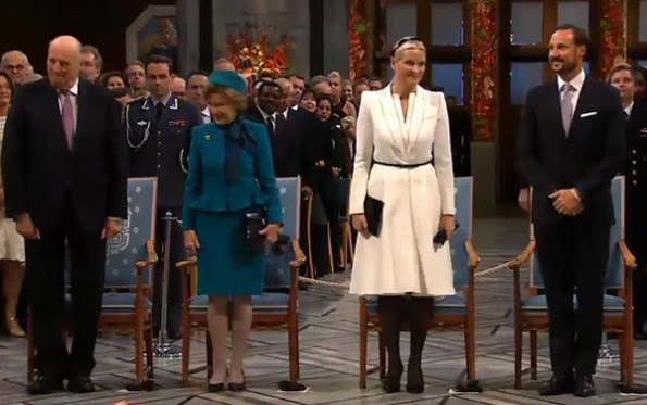 The Nobel Peace Prize Ceremony 2015 In Oslo