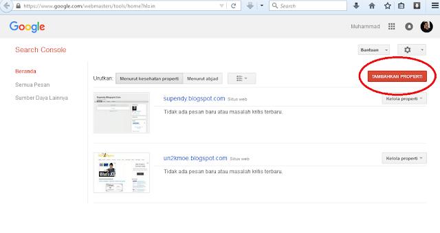 cara mudah daftar sitemap blog di google webmasters tools terbaru