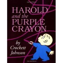LITTLE DAVID AND THE PURPLE CRAYON